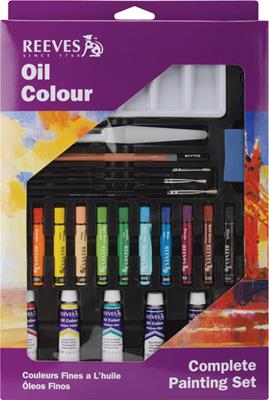 Complete Painting Kit - Oil Color