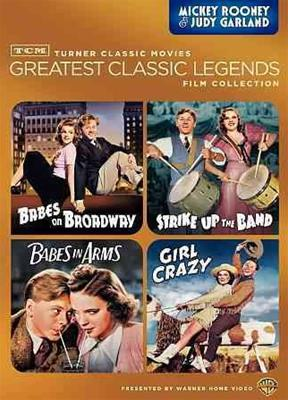 TCM GREATEST CLASSIC FILMS-MICKEY ROONEY & JUDY GARLAND (DVD/4FE)
