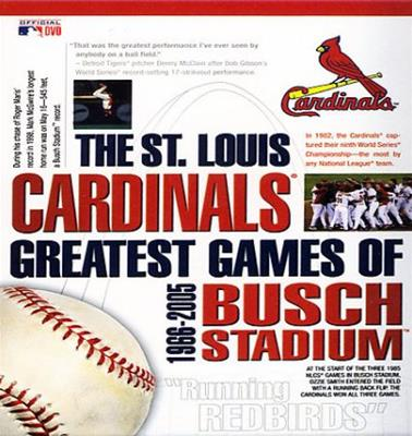 ST LOUIS CARDINALS GREATEST GAMES OF