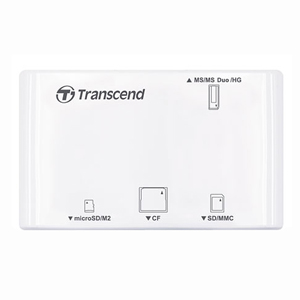 CARD READER, ALL IN ONE,P8, WHITE