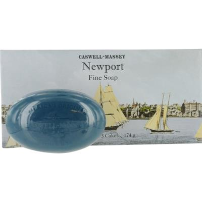 Caswell Massey by Caswell Massey Newport Bath Soap Trio --3x5.8oz