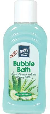 Cucumber and Aloe Bubble Bath 20 ounce Case Pack 12