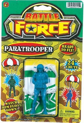 Battle Force Paratrooper Assorted Case Pack 12