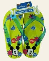 Disney Mickey Mouse Children's Yellow Sandals - Kids Mickey Sandals 3/4