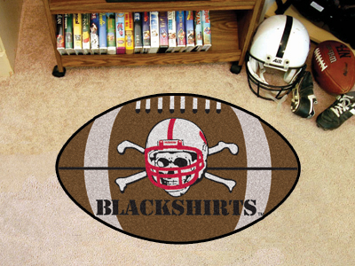 "Nebraska Blackshirts Football Rug 22""""x35"""""