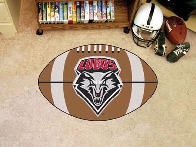 "New Mexico Football Rug 22""""x35"""""