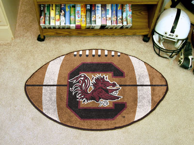 "South Carolina Football Rug 22""""x35"""""
