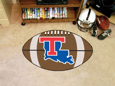 "Louisiana Tech Football Rug 22""""x35"""""