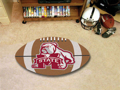"Mississippi State Football Rug 22""""x35"""""