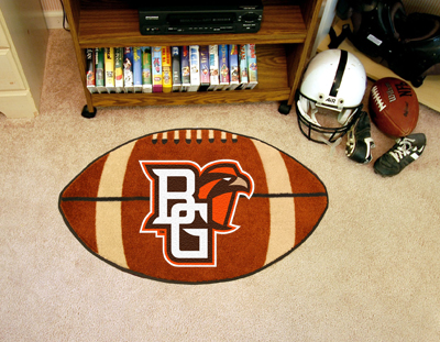 "Bowling Green State Football Rug 22""""x35"""""