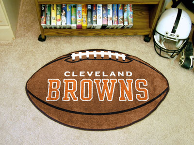 "Cleveland Browns Football Rug 22""""x35"""""