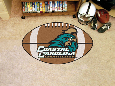 "Coastal Carolina Football Rug 22""""x35"""""