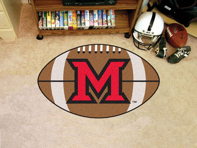 "Miami of Ohio Football Rug 22""""x35"""""