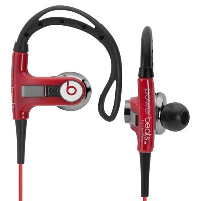 Beats by Dre PowerBeats Sports Earbuds (Red)