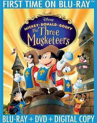 MICKEY/DONALD/GOOFY-THREE MUSKETEERS-10TH ANNIVERSARY (BR/DVD/DHD/2 DISC)
