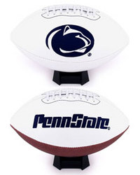 Penn State Nittany Lions Full Size Embroidered Signature Football