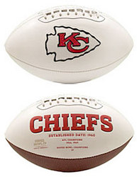 Kansas City Chiefs Embroidered Signature Series Football