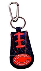 Chicago Bears Team Color Keychain