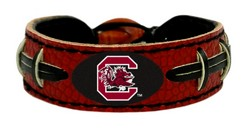 South Carolina Gamecocks Bracelet - Team Color Football