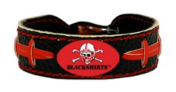 Nebraska Huskers Bracelet - Blackshirts Team Color Football