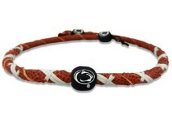 Penn State Nittany Lions Spiral Football Necklace