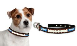 Detroit Lions Dog Collar - Small