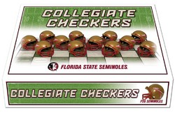 Florida State Seminoles Checker Set