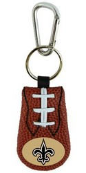 New Orleans Saints Classic Football Keychain