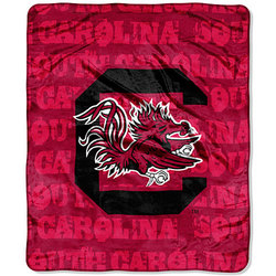 "South Carolina Gamecocks 46"" x 60"" Micro Raschel Throw Blanket"