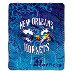 "New Orleans Hornets 46"" x 60"" Micro Raschel Throw Blanket"