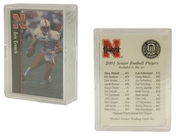 Nebraska Huskers 2001 Senior Football Trading Card Set