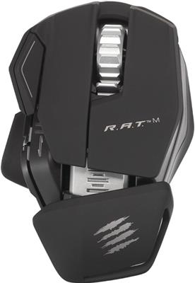 Mad Catz - R.A.T. M Wireless Mobile Gaming Mouse (Matte Black)