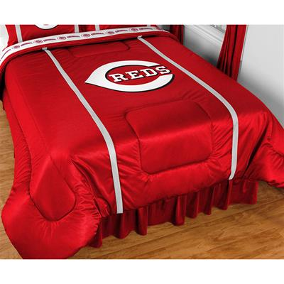 MLB Cincinnati Reds Bed Comforter Baseball Bedding