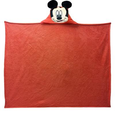 Mickey - Hooded Mickey Entertainment 40x50 Hooded Character Throw