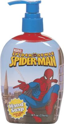 Spiderman Hand Soap 8 ounce Case Pack 12
