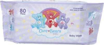 Care Bears Unscented Baby Wipes Case Pack 12