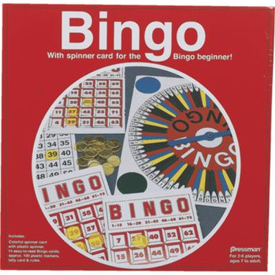 Bingo Game with Spinner Card Case Pack 3