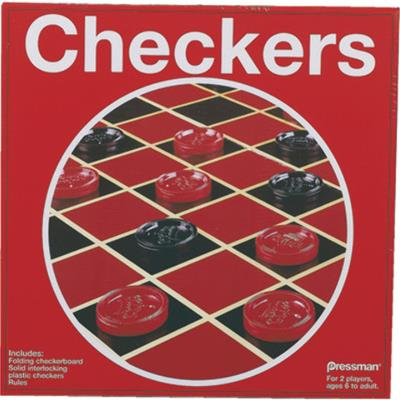 Checkers Board Game Case Pack 3
