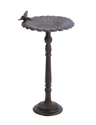 Cast Iron Hummingbird Bird Bath
