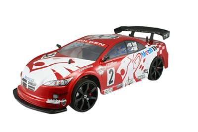 1/10 scale of 4 Wheel Drive (4WD) DRIFT R/C RACING CAR