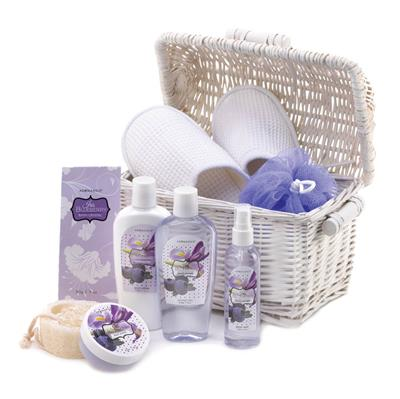 Blueberry Fragranced Spa Set