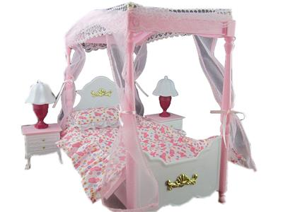 Doll Bed Dreamy Comfy Doll Furniture Bed Room Set