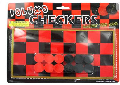 Checkers Game Starter Set Case Pack 36