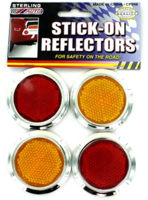 Stick-On Road Safety Reflectors Case Pack 24
