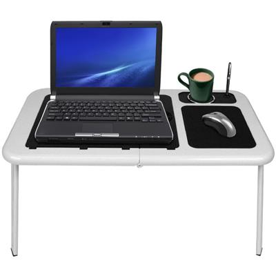 NorthwestPortable Work Station Table w/ Fan - white