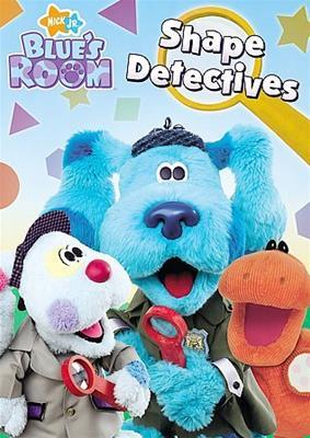 BLUES CLUES-BLUES ROOM-SHAPE DETECTIVES (DVD) (ENG DOL DIG)