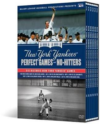 PERFECT GAMES AND NO HITTERS:NEW YORK