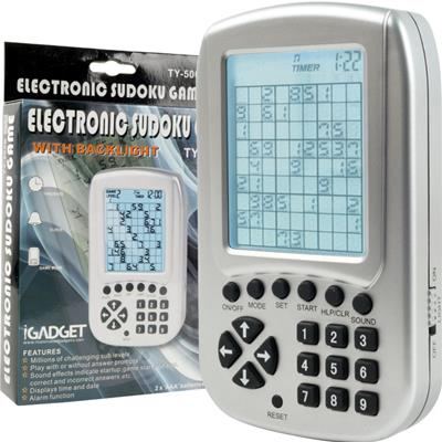 Electronic Sudoku Reasoning and Logic Game