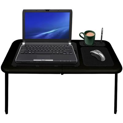 Northwest? Portable Work Station Table w/ Fan - All Black
