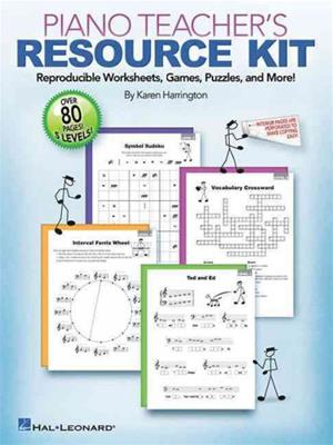 Piano Teacher Resource Kit: Reproducible Worksheets, Games, Puzzles, and More